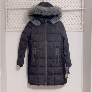 FLEET STREET Missy Longline Puffer Parka Jacket